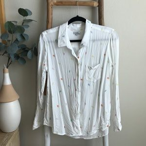 Anthropologie Rails Summertime Buttondown